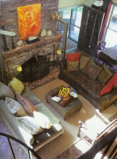 Covering An Existing Brick Fireplace Design, Pictures, Remodel, Decor and Ideas - page 3