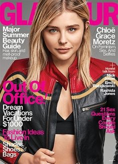 Magazine photos featuring Chloë Grace Moretz on the cover. Chloë Grace Moretz magazine cover photos, back issues and newstand editions. V Magazine, Glamour Magazine, Instyle Magazine, Magazine Covers, Marie Claire, Cosmopolitan, Vanity Fair, Best Fashion Magazines, Town And Country Magazine
