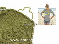 Knitted jumper with raglan and lace pattern, worked top down in DROPS Merino Extra Fine. Sizes S - XXXL. Free pattern by DROPS Design. Jumper Knitting Pattern, Sweater Knitting Patterns, Knitting Designs, Free Knitting, Knitting Projects, Drops Design, Drops Patterns, Lace Patterns, Crochet Patterns