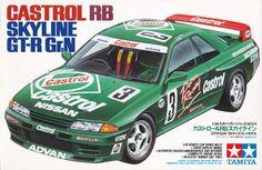 Tamiya model kit in scale 24111 is a rebox released in 1992 Nissan Skyline, R32 Skyline, Tamiya Model Kits, Tamiya Models, Plastic Model Kits, Plastic Models, Nissan R32, Car Prints, Custom Muscle Cars