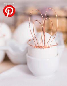 In wenigen Tagen ist #Ostern und wir haben uns von der Fülle an Bastel- sowie #Deko-Tipps auf Pinterest inspirieren lassen! Hier teilen wir in den nächsten Tagen die besten #Ideen zum #Selbermachen mit euch!