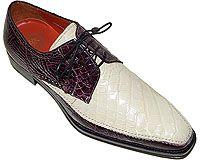 Mezlan Platinum Custom # 3801 at AlligatorWorld.com - Exotic Skin Shoes