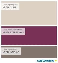 Castorama Nuancier Peinture - Mon harmonie Peinture NEPAL CLAIR satin de DULUX VALENTINE Couleurs du monde