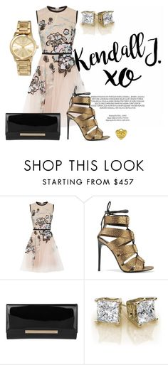Untitled #65 by alaasalah on Polyvore featuring Elie Saab, Tom Ford, Jimmy Choo, MICHAEL Michael Kors and xO Design follow instagram @glamour_instagram_
