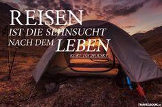Die besten Sprüche und Zitate rund ums Reisen - TRAVELBOOK.de