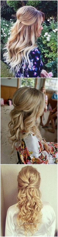 Wedding Hairstyles » 22 Half Up and Half Down Wedding Hairstyles to Get You Ins… http://www.hairdesigns.top/2017/07/18/wedding-hairstyles-22-half-up-and-half-down-wedding-hairstyles-to-get-you-ins/