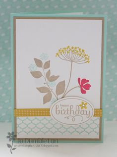 Stampin 'n Stuff: Summer Silhouettes Stampin' Up!