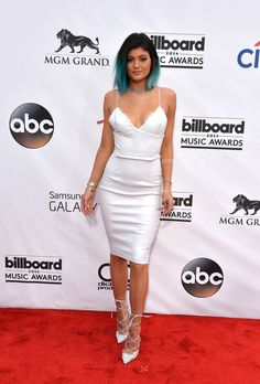 Kylie Jenner - Billboard Music Awards 2014: Stars Heat Up The Red Carpet. Kylie Kristen Jenner (sister to Kendall Jenner) is an American reality television star. She is known for appearing on the E! reality TV show Keeping Up with the Kardashians that she shares with her family. (source: wikipedia.com, huffingtonpost.com)