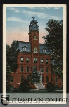 Historical Collections at Champlain College