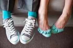 gray and turquoise wedding   turquoise tuesday} » Something Turquoise {daily bridal inspiration}