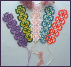 Tatting 54 - Tatted Bookmark Designs by Murphy's Designs