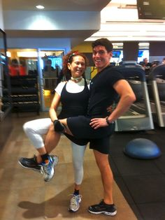 Purely Patricia Fox training at Equinox with Jaimie Morales! patriciafoxdesign.com #fitness #Home #stylist #interior #designer #whimsical #luxury #interiordesign #interiordesigner