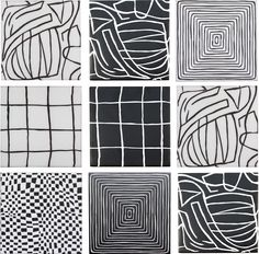 Maven draws upon Wearstler's affinity for repetition and relaxed, painted geometric patterns. The tiles Kelly Wearstler for ANN SACKS features the Modern Art Deco, Modern Decor, Black And White Tiles, Promotional Design, Line Design, Design Design, Interior Design, Futuristic Furniture, Kelly Wearstler