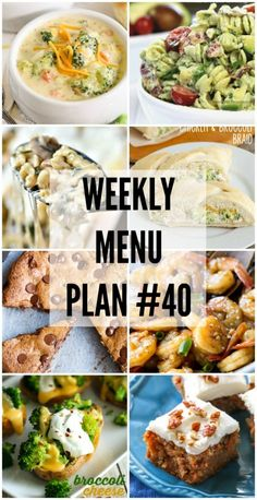 Weekly Menu Plan - a great collection of delicious dinner recipes to help you plan your weekly meals. Meal Planning Board, Weekly Menu Planning, Planning Budget, Parmesan, Dinner This Week, Delicious Dinner Recipes, Yummy Food, Meal Planner, Dinner Planner