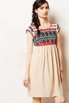 Petra Swing Dress #anthropologie