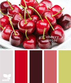 Cherry color inspiration