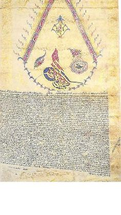 Ferman of Sultan Mahmud II-1825
