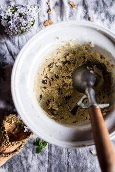 Pistachio Mint Chip Ice Cream   halfbakedharvest.com @hbharvest