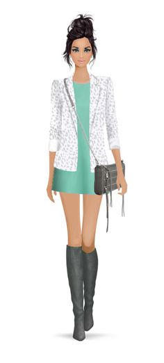Look styled for Covet Fashion