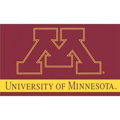 U of M, University of Minnesota, Minnesota, college, U of M flag, flag, NCAA, sports, football,