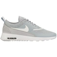 hot sale online 5bda6 9b369 Women s Air Max Thea Grey Sneakers LITTLE BURGUNDY ( 125) ❤ liked on  Polyvore featuring. Graue TurnschuheGraue SchuheSilber SchuheNike ...