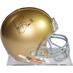 Tim Brown Signed Notre Dame Full Size Replica Helmet - This Notre Dame full size helmet has been personally hand-signed by Fighting Irish great Tim Brown.100% Guaranteed AuthenticIncludes Steiner Sports Certificate of Authenticity Features Tamper-Evident Steiner Hologram. Gifts > Licensed Gifts > Ncaa > All Colleges > Notre Dame. Weight: 3.00