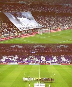 #respect #Raul #TrofeoBernabeu 2013 beautiful thanks for one of the greatest players ever.