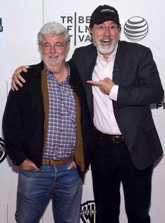 Stephen Colbert Photos: Tribeca Talks: Director Series:George Lucas With Stephen Colbert - 2015 Tribeca Film Festival