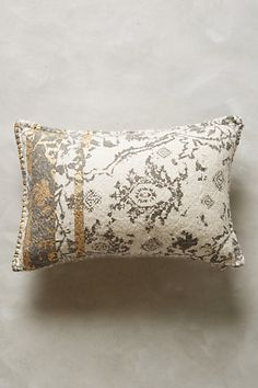 For the bench | Copacati Throw Pillow - anthropologie.com