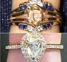Re-create your ring with a modern setting!