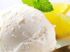 Citrónová zmrzlina Sorbet Ice Cream, Yogurt Ice Cream, Lemon Sorbet, Lemon Yogurt, Frozen Yogurt Recipes, Ice Cream Maker, Ice Cream Recipes, Desert Recipes, Baked Goods
