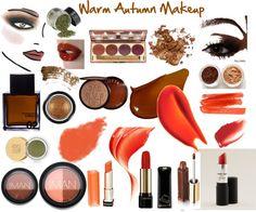 """Warm Autumn Makeup"" by jeaninebyers Deep Autumn Color Palette, Seasonal Color Analysis, Dark Autumn, Color Me Beautiful, Best Lipsticks, Warm Spring, Fall Makeup, Warm Colors, Autumn Colours"