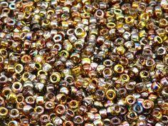 MATUBO Czech Glass Seed Beads 7/0 3.5mm by ScaraBeads
