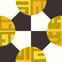 NEW MOON - Antique Geometric Quilt Designs