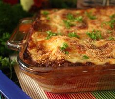 the best lasagna recipe where I come from. In an earlier version of this she added some red current jelly, which gives it an extra something, mmmm! Italian Pasta Recipes, Meat Recipes, Cooking Recipes, Italian Entrees, Cake Recipes, Best Lasagna Recipe, Meat Lasagna, Food Dishes, Dinner Dishes