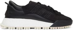 buy popular 32559 c1290 adidas Originals by Alexander Wang - Black AW Hike Lo Boost Sneakers