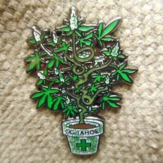 Tag someone who will LOVE this Rare Limited Edition Pin! :) $13.99 FREE Shipping through our website. (Link In Bio)  #heady #fresh #hat #pins #hatpins #lapelpin #art #artist #weed #high #highsociety  #etsy #spiritual  #beautiful #goodvibes #followforfollow #rave #f4f #grateful #420 #follow4follow #710 #dabs  #highlife #musicfestival  #concert  #smokeshop #style #patchgame #pingame by designsbydonnyllc