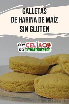 #receta para hacer galletas #singluten con harina de maíz. #galletas #cookies #glutenfree #sintacc #celiacos #cocina #harinademaiz Gluten Free Sweets, Gluten Free Cookies, Vegan Gluten Free, Gluten Free Recipes, Gluten Free Christmas Cookies, Galletas Cookies, Dessert Drinks, Foods With Gluten, Lactose Free