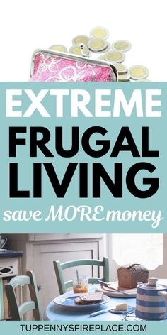 Some great ideas on extreme frugality. Extreme frugal living tips for tough times. Practical tips on how to be super frugal without being an extreme cheapskate. Extreme frugal tips and money saving ti Frugal Living Tips, Frugal Tips, Frugal Meals, Meals For Four, Large Family Meals, Large Families, Healthy Groceries, Save Money On Groceries, Groceries Budget