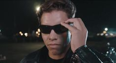 Joseph Baena Arnold Schwarzenegger's Son Recreates 'The Terminator 2' 'Bad To The Bone' Scene -  Joseph Baena Arnold Schwarzenegger's Son Recreates 'The Terminator 2' 'Bad To The Bone' Scene Joseph got together with some film friends to do a shot-by-shot reproduction of one of his father's most famous scenes. Fecha: September 6 2016 at 04:16PM via Digg: http://digg.com/video/joseph-baena-terminator-2 - Sigueme en mi página de Facebook: https://www.facebook.com/peliculas.mundoalegre…