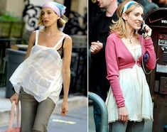 Summer Style to Copy: Carrie Bradshaw's Headscarf Obsession