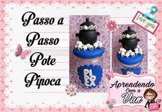 (DIY) PASSO A PASSO POTE PIPOCA MARATONA POTES #10