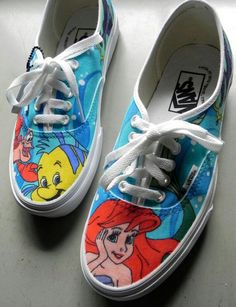 Little Mermaid Vans