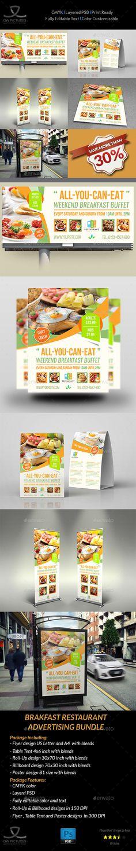 Breakfast Restaurant Advertising Package