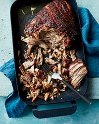 Garlicky Roast Pork Shoulder