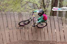 Wallride - Rider: Sarah Eckardt - Location: Bikepark Beerfelden(GER) - #ilovegirlriders #iamagirlrider