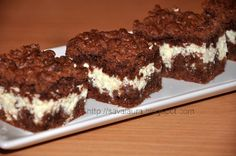 Prajitura Rudy, cu aluat ras Baking Recipes, Dessert Recipes, Russian Desserts, Bread Baking, Sweet Tooth, Cheesecake, Food And Drink, Sweets, Cookies
