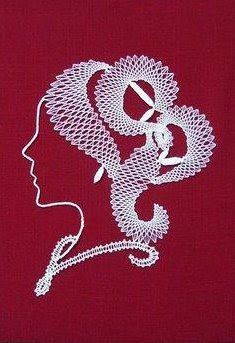 Looking for heds made with these prickings Machine Embroidery Designs, Hand Embroidery, Bobbin Lace Patterns, Lacemaking, All Craft, Tatting, Stencils, Projects To Try, How To Make