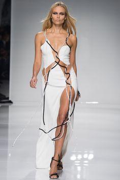 Atelier Versace Spring 2016 Couture Fashion Show - Natasha Poly (Women)