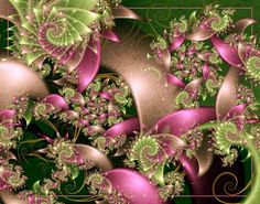 Fractals - the garden path - By Unknown